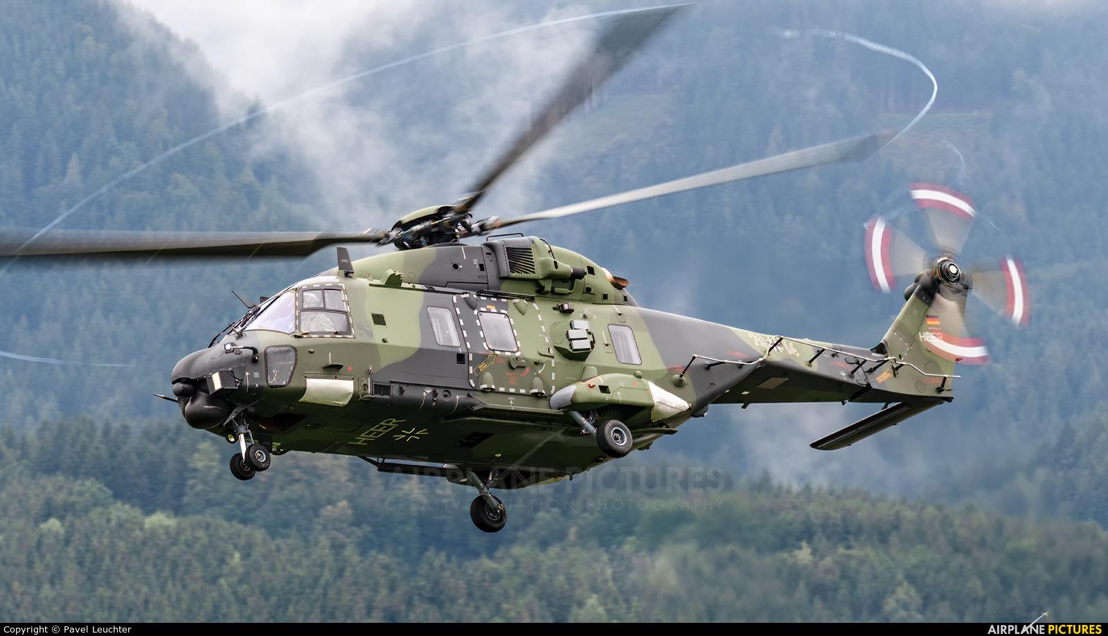 Germany - Army 79+14 aircraft at Zeltweg