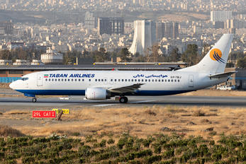 EP-TBJ - Taban Airlines Boeing 737-400
