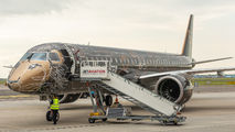Embraer E195 E2 visited Amsterdam for presentation title=