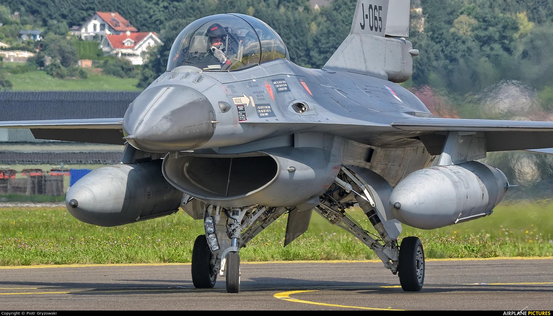 Netherlands - Air Force J-065 aircraft at Zeltweg