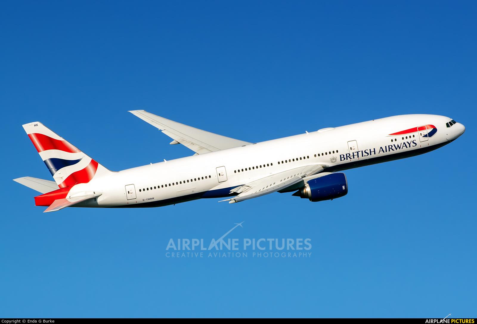 British Airways G-YMMK aircraft at London - Heathrow