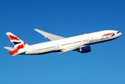 G-YMMK - British Airways Boeing 777-200 aircraft