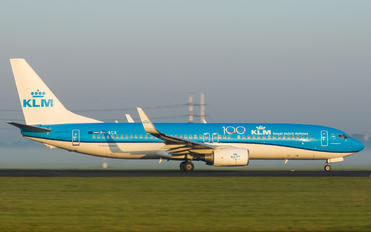 PH-BGB - KLM Boeing 737-800