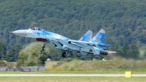 58 - Ukraine - Air Force Sukhoi Su-27 aircraft
