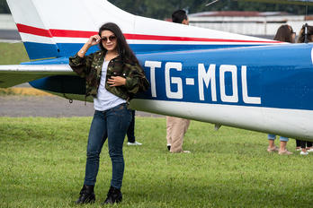 MGGT - - Aviation Glamour - Airport Overview - People, Pilot