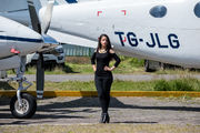 MGGT - - Aviation Glamour - Airport Overview - People, Pilot aircraft