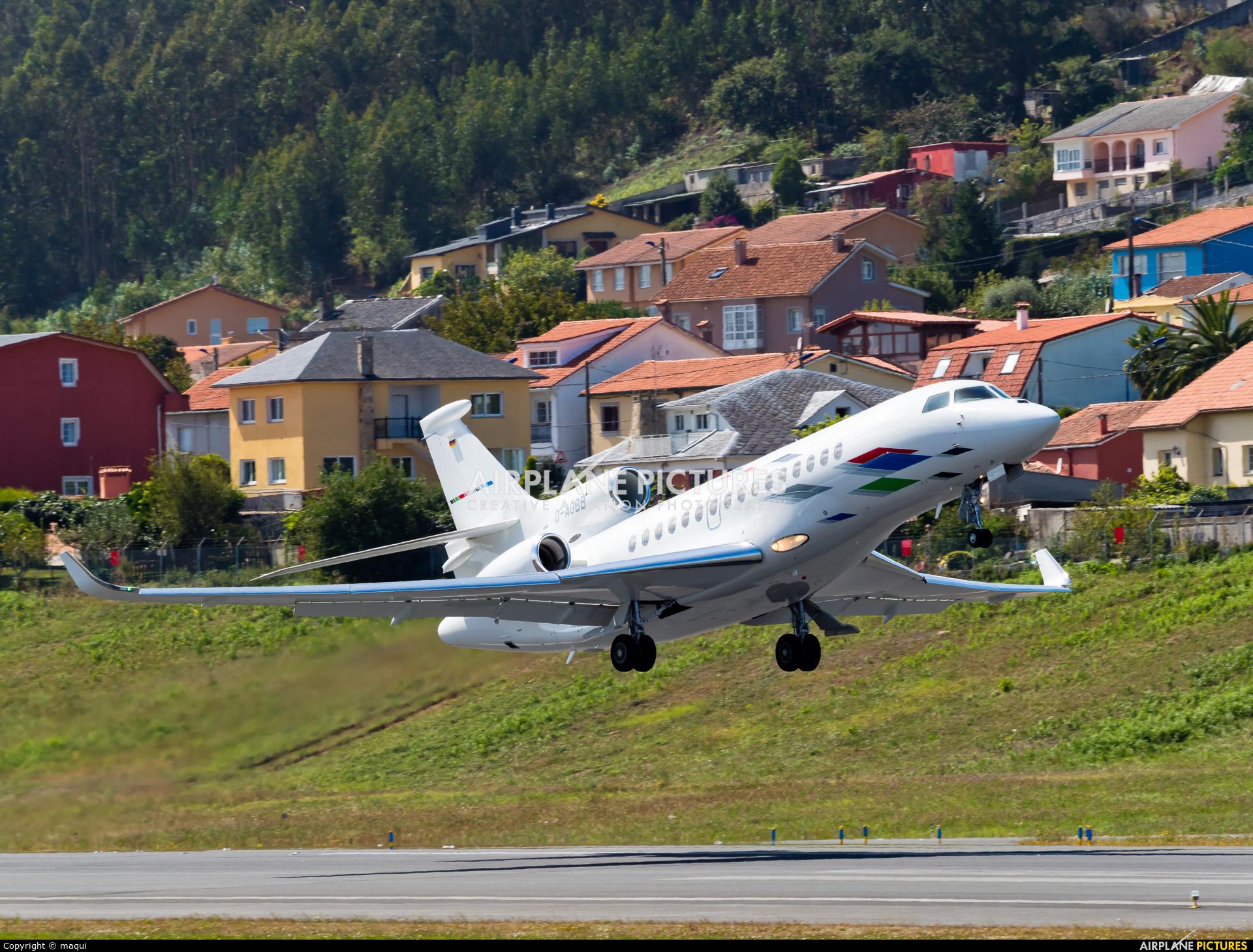 Volkswagen Air Service D-AGBB aircraft at La Coruña