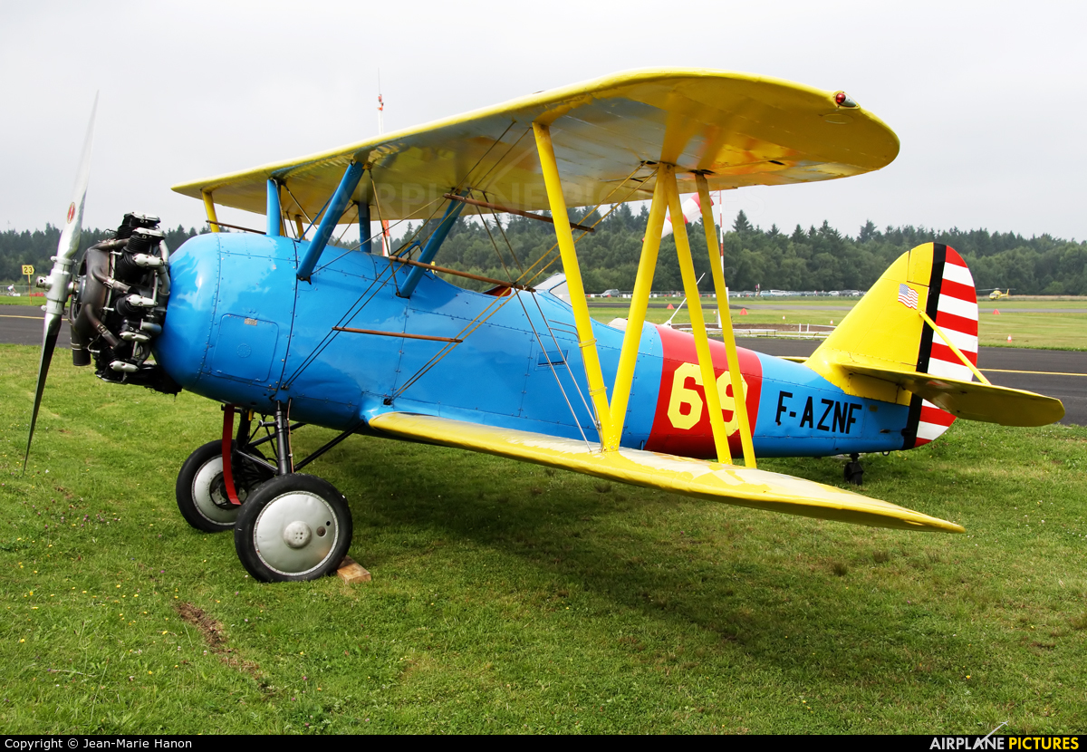 Private F-AZNF aircraft at Spa - La Sauveniere