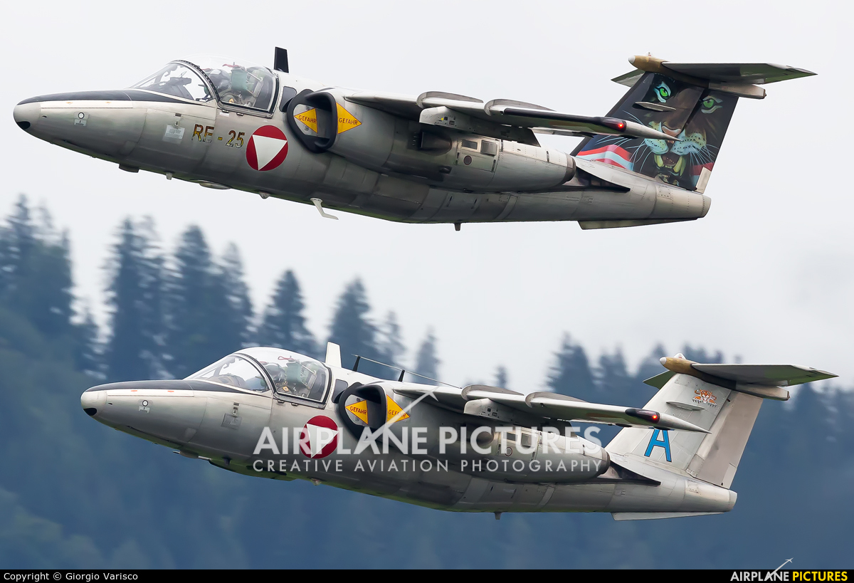 Austria - Air Force 1125 aircraft at Zeltweg
