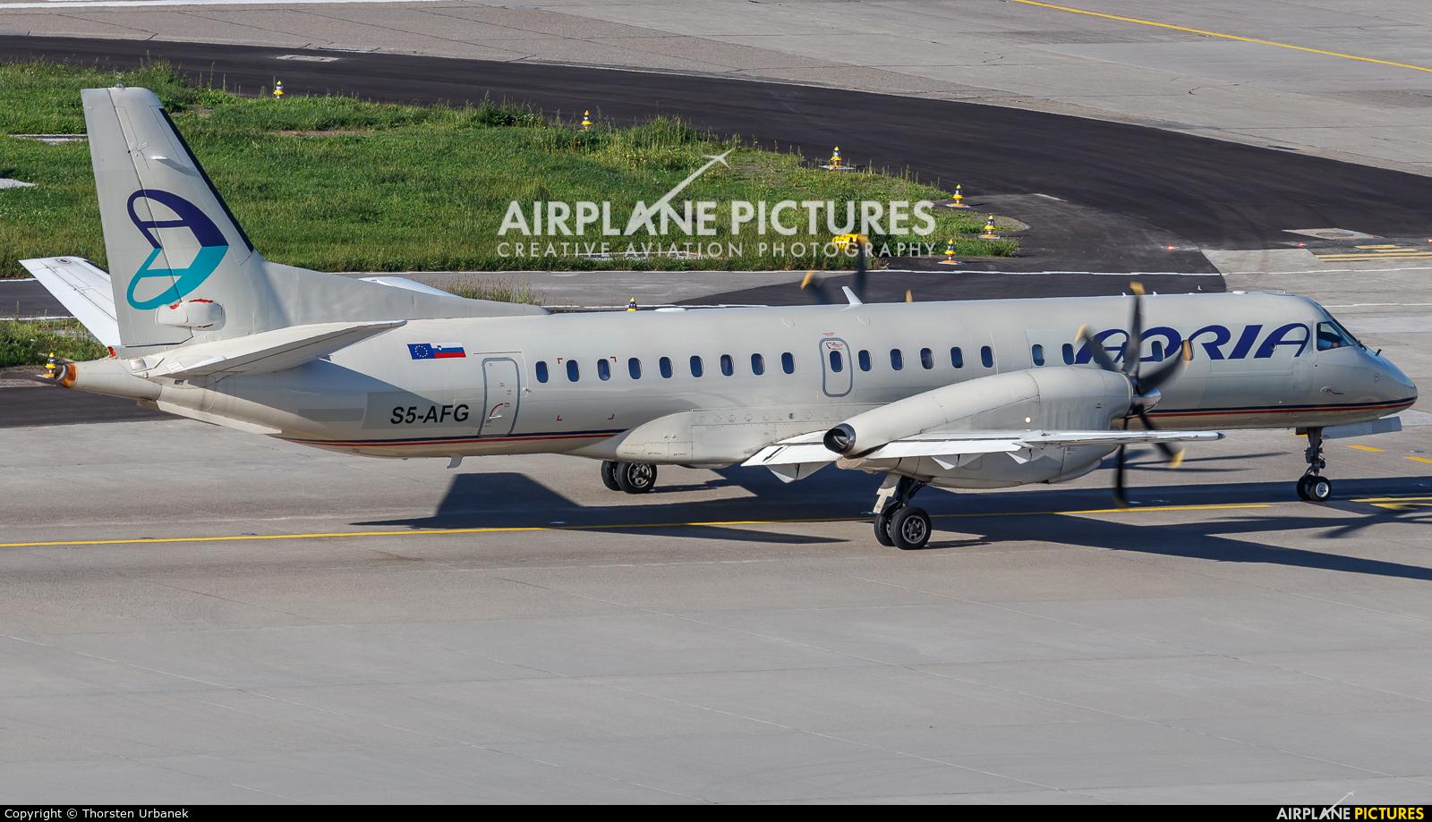 Adria Airways S5-AFG aircraft at Zurich
