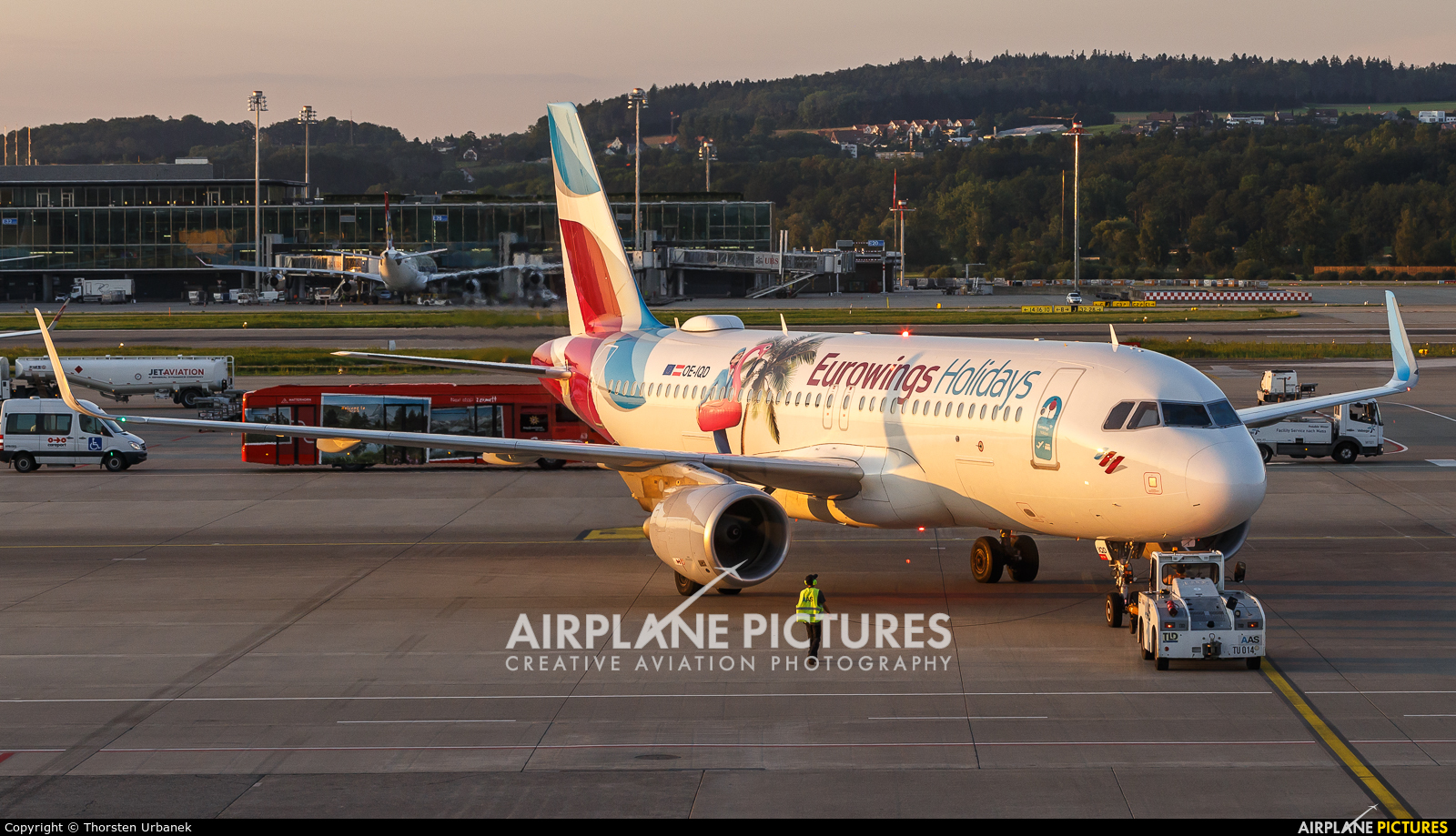 Eurowings Europe OE-IQD aircraft at Zurich