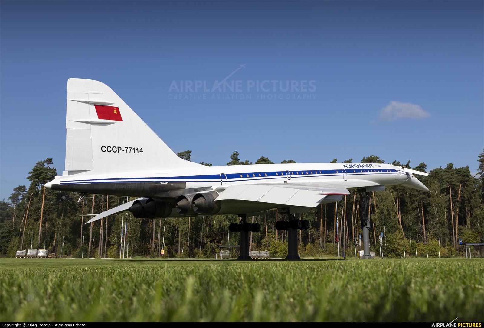 Aeroflot CCCP-77114 aircraft at Ramenskoye - Zhukovsky