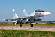 59 - Russia - Air Force Sukhoi Su-30SM aircraft