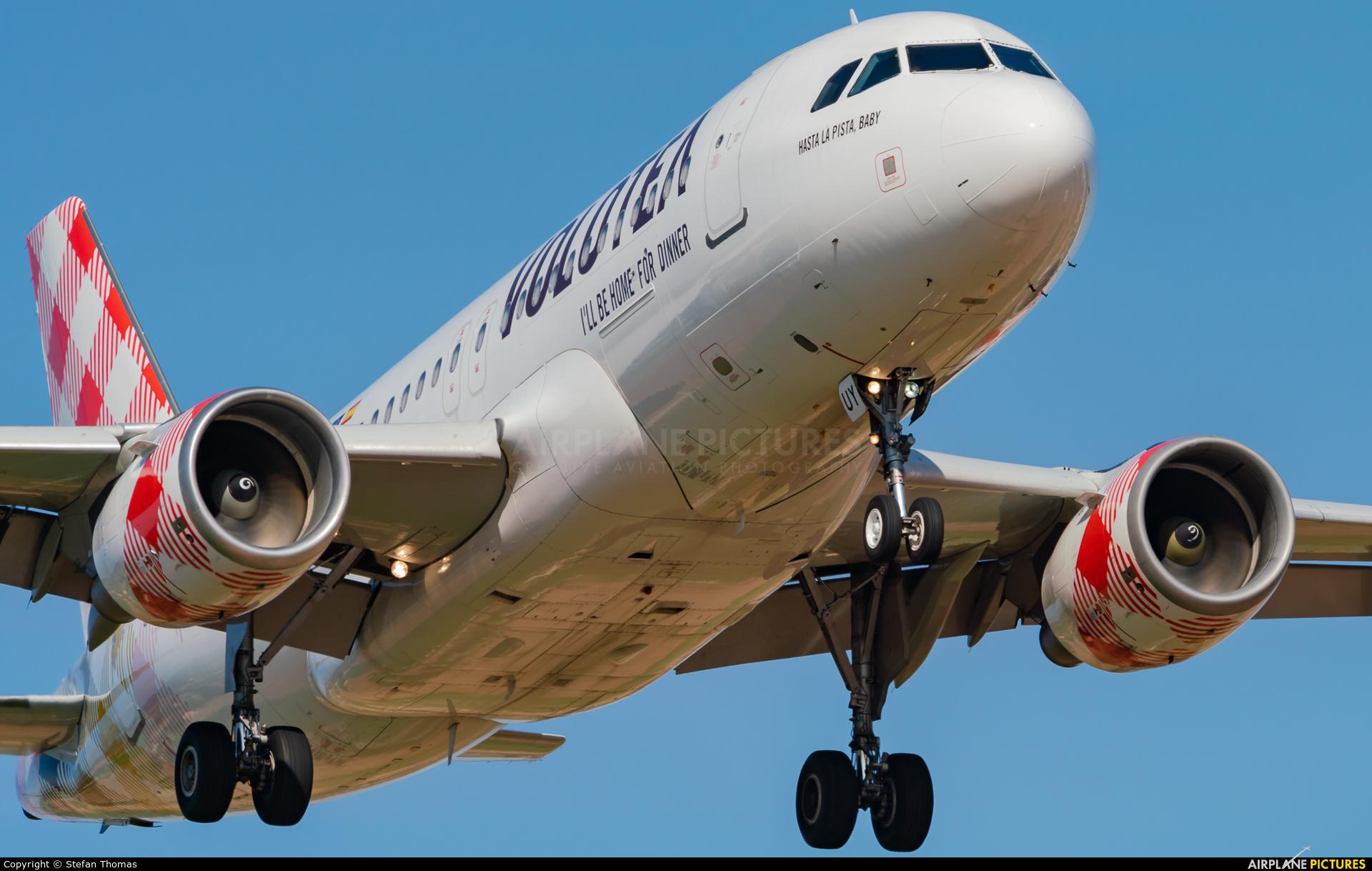 Volotea Airlines EC-MUY aircraft at Palma de Mallorca