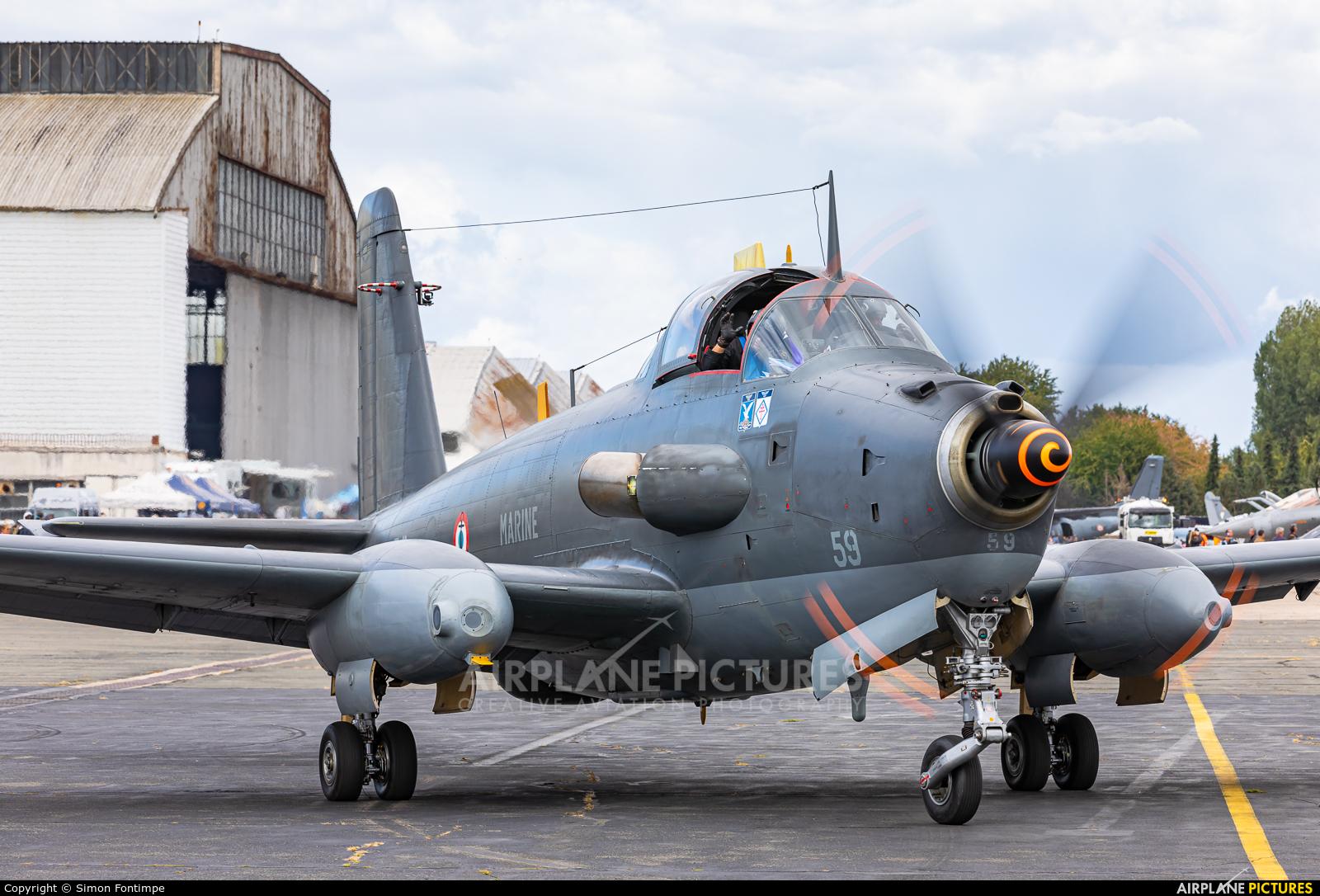 France - Navy F-AZYI aircraft at LFPM