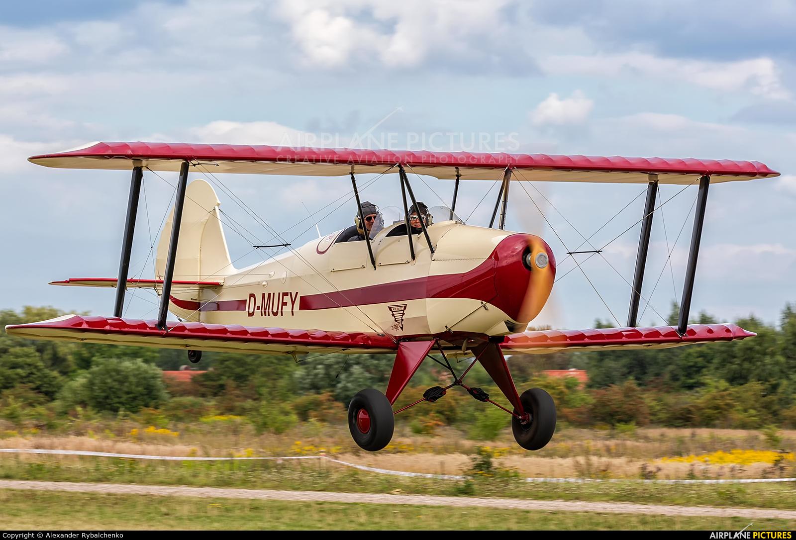 Private D-MUFY aircraft at Kaliningrad/Devau