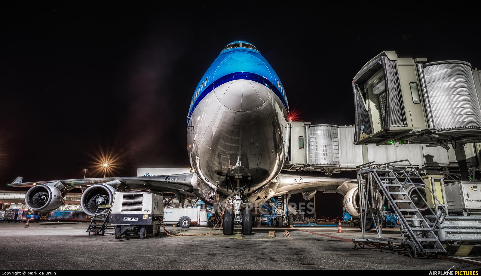 KLM PH-BFP aircraft at Amsterdam - Schiphol