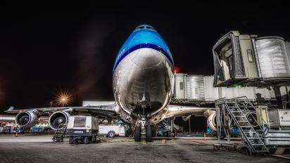 PH-BFP - KLM Boeing 747-400
