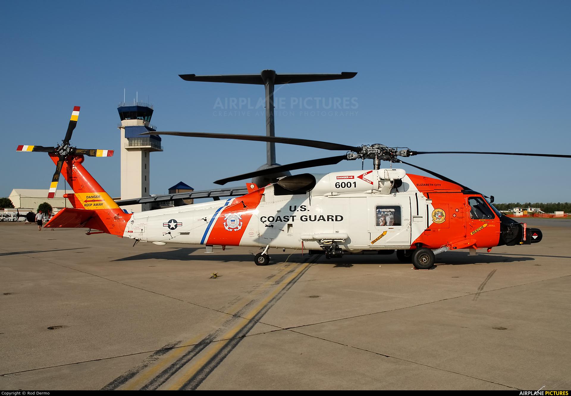 USA - Coast Guard 6001 aircraft at Oceana NAS