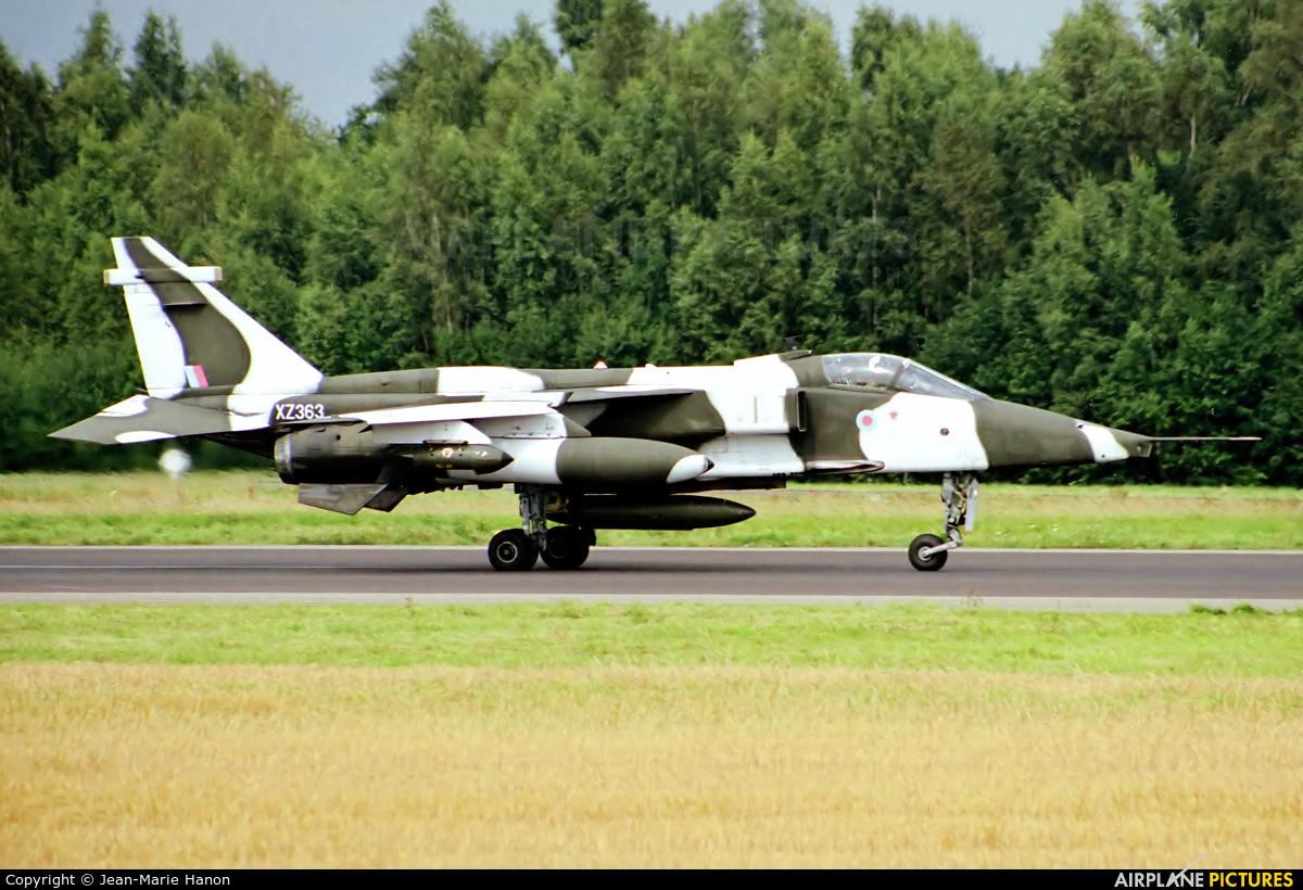 Royal Air Force XZ363 aircraft at Florennes