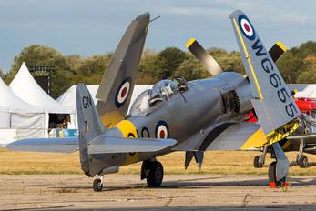G-INVN - Private Hawker Sea Fury T.20