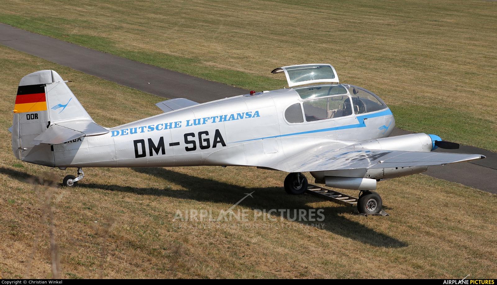 Private D-GADA aircraft at Bad Pyrmont