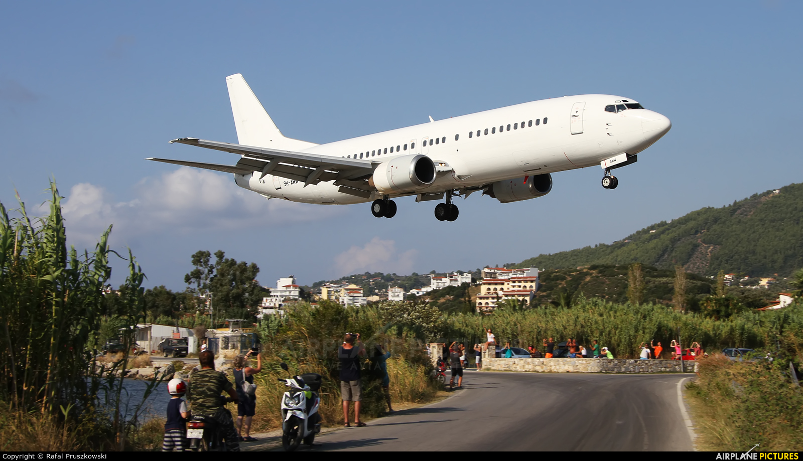 Blue Panorama Airlines 9H-AMW aircraft at Skiathos