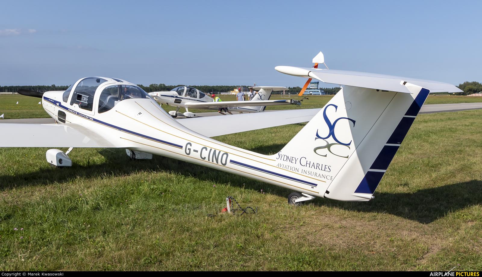 Aerosparx Display Team G-CINO aircraft at Gdynia- Babie Doły (Oksywie)