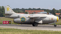 SE-DXB - Swedish Air Force Historic Flight SAAB J 29F Tunnan aircraft
