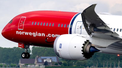 G-CKWF - Norwegian Air UK Boeing 787-9 Dreamliner