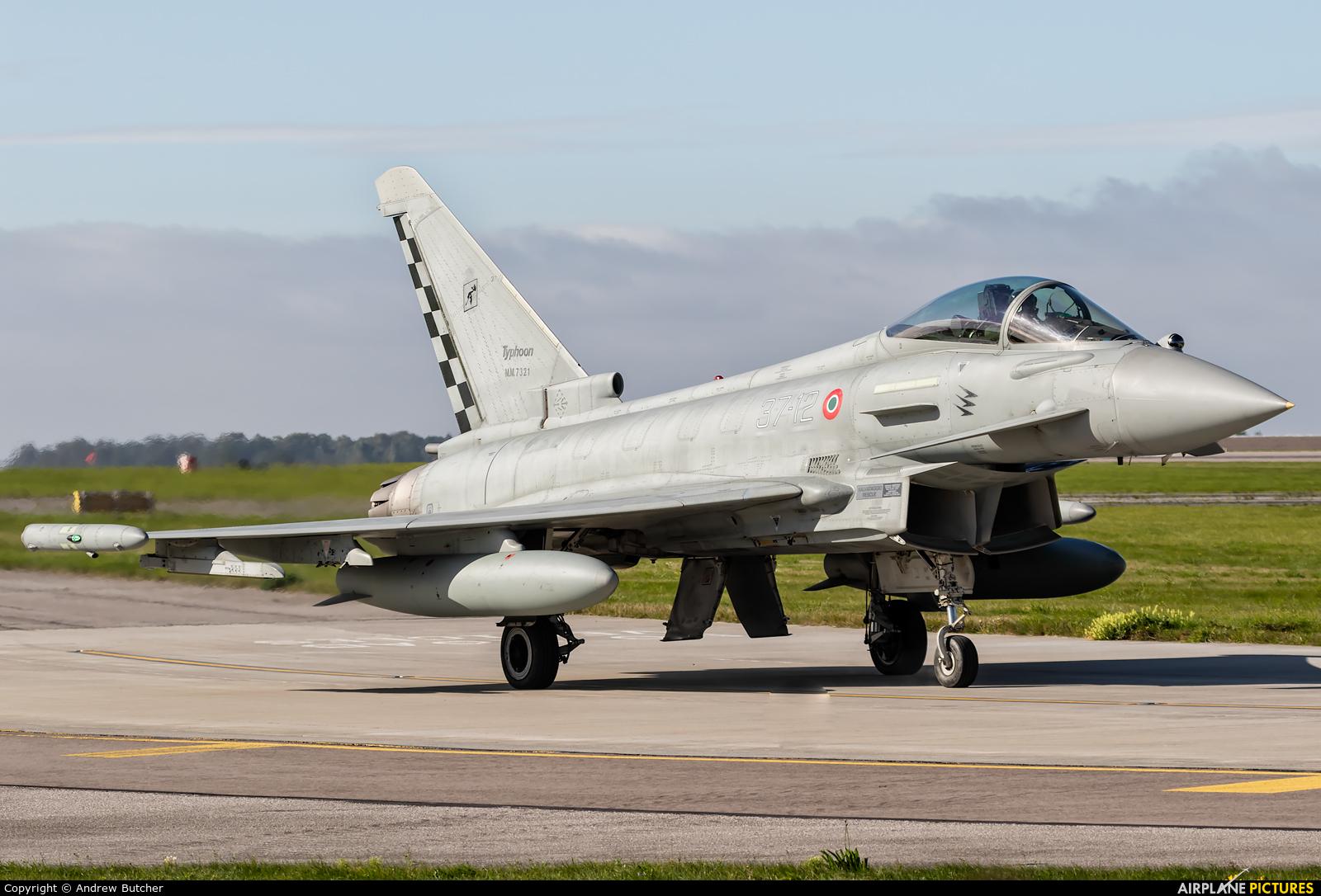 Italy - Air Force MM7321 aircraft at Waddington