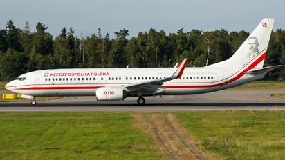 0110 - Poland - Air Force Boeing 737-800