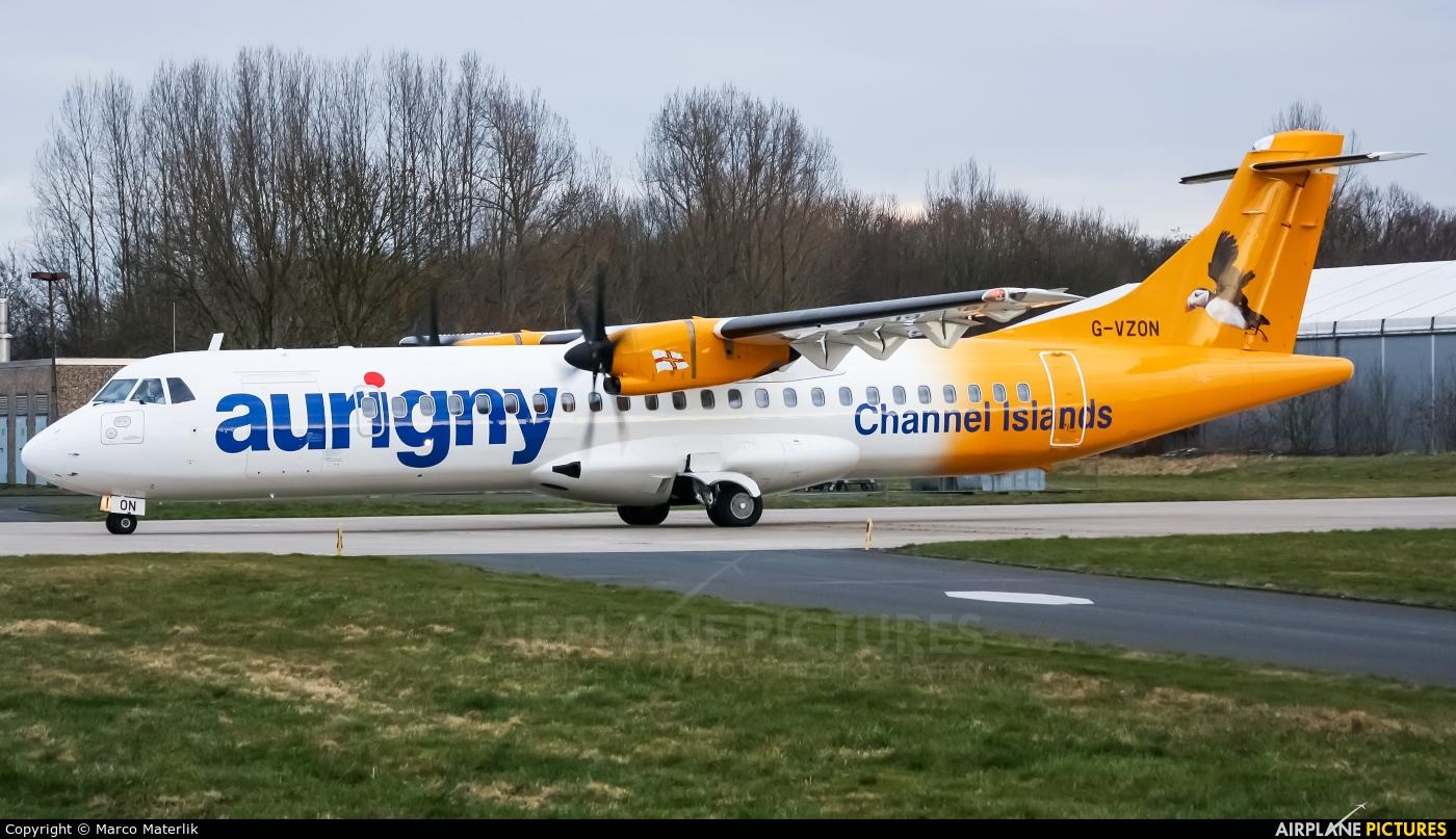 Aurigny Air Services G-VZON aircraft at Mönchengladbach