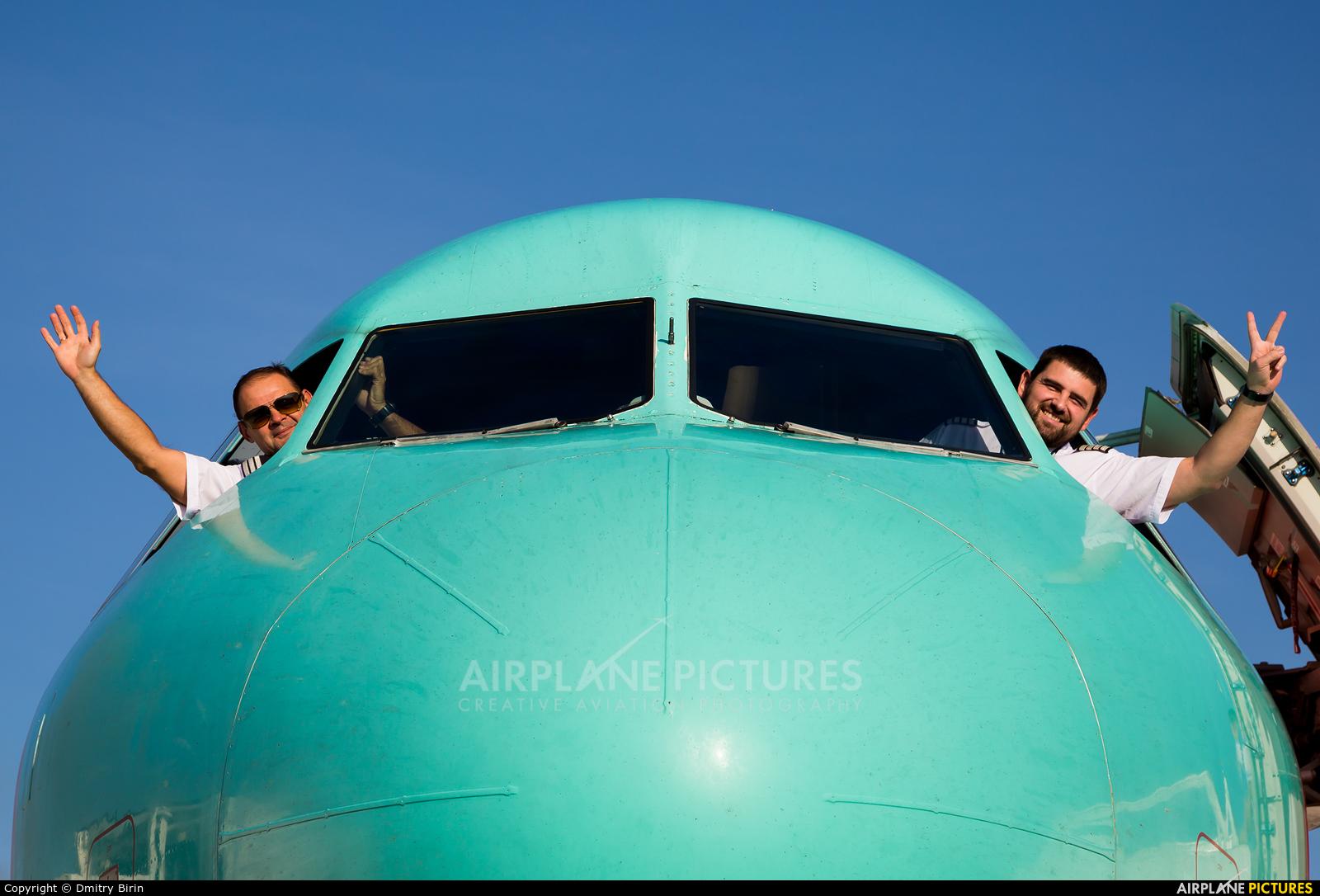 Windrose Air UR-WRH aircraft at Kyiv - Borispol