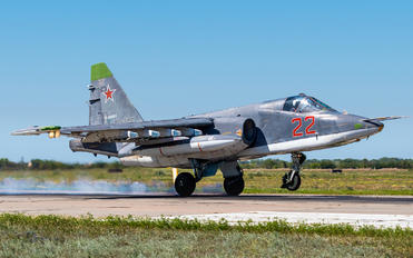 22 - Russia - Air Force Sukhoi Su-25SM