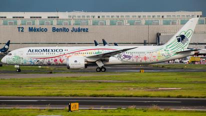 XA-ADL - Aeromexico Boeing 787-9 Dreamliner