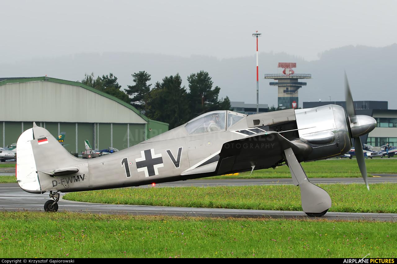 Private D-FWMV aircraft at Zeltweg