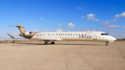 5A-LAM - Libyan Airlines Canadair CL-600 CRJ-900
