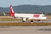 LATAM Brasil A321 visited Berlin title=