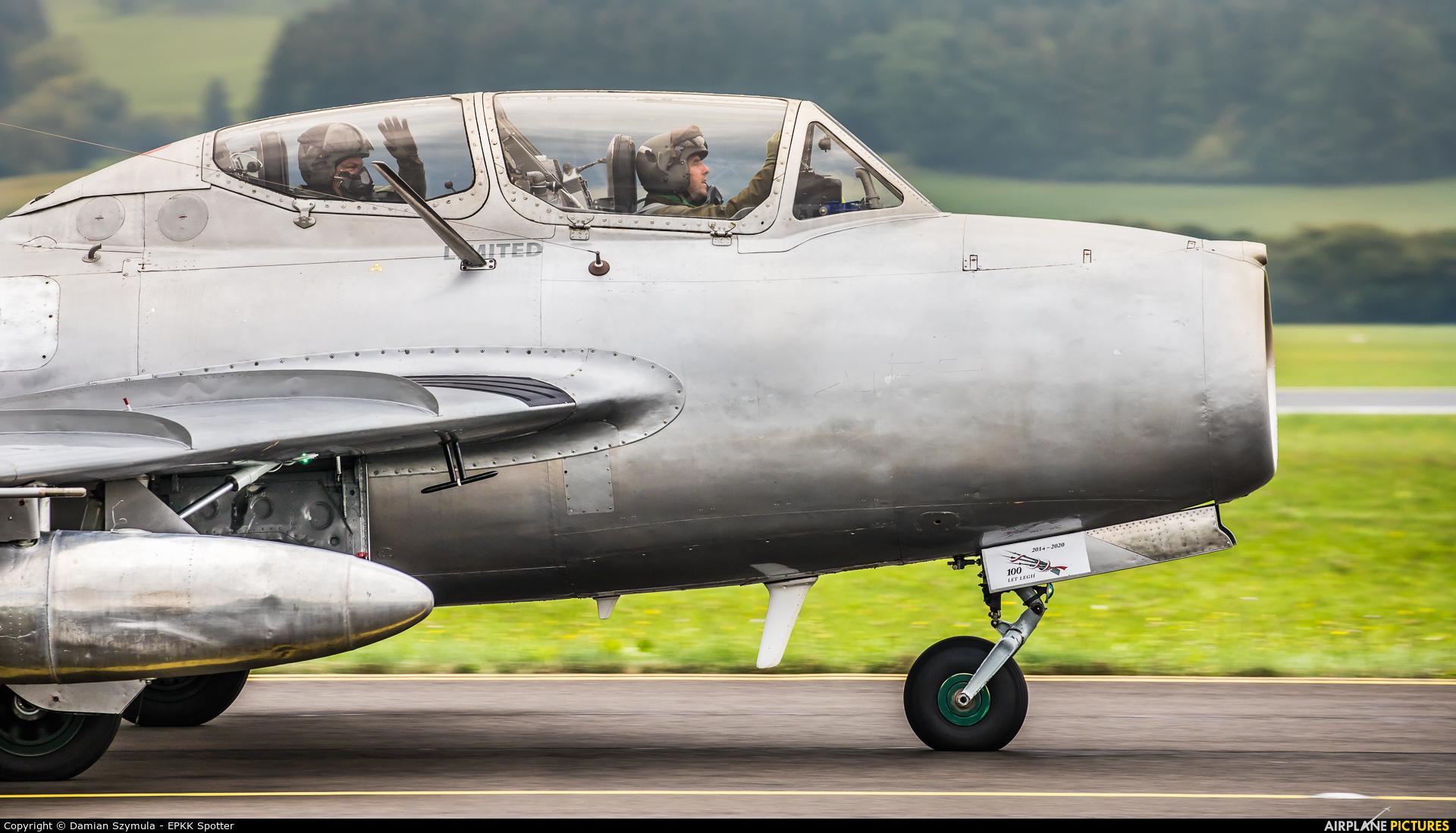 Czech Flying Legends OK-UTI aircraft at Zeltweg