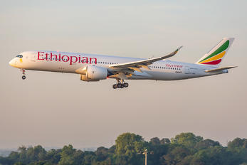 ET-AWN - Ethiopian Airlines Airbus A350-900
