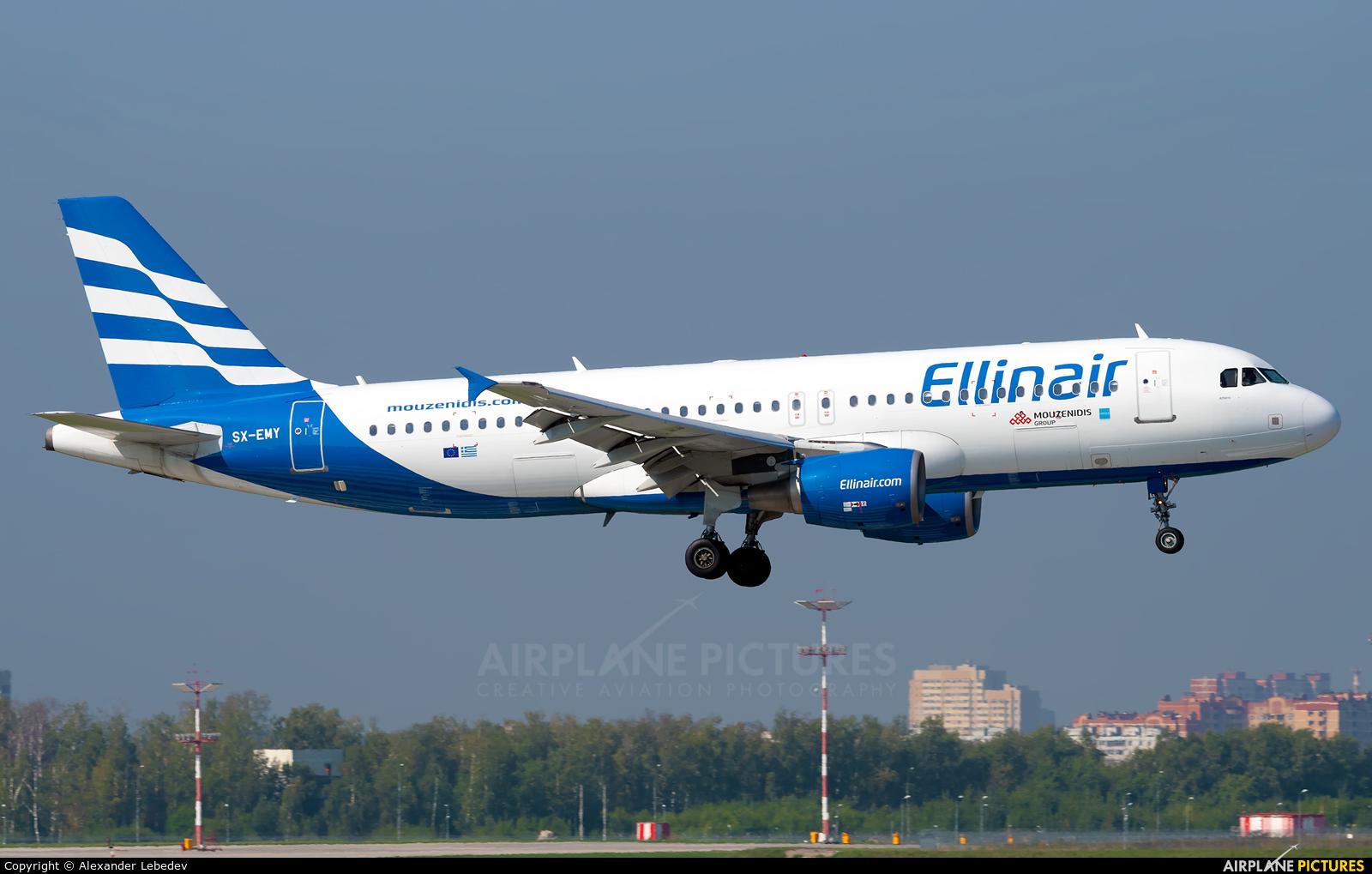 Ellinair SX-EMY aircraft at Moscow - Vnukovo