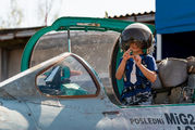 5581 - Czechoslovak - Air Force Mikoyan-Gurevich MiG-21MF aircraft