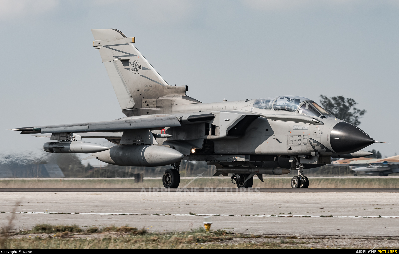 Italy - Air Force MM7055 aircraft at Andravida AB