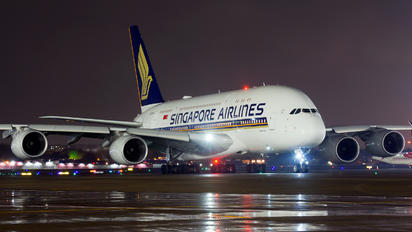 9V-SKU - Singapore Airlines Airbus A380
