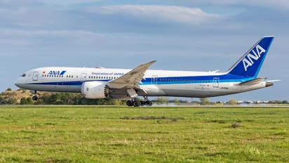 JA891A - ANA - All Nippon Airways Boeing 787-9 Dreamliner