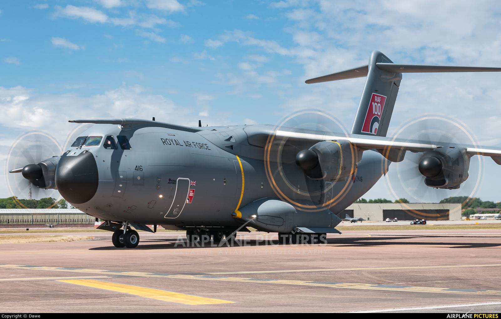 Royal Air Force ZM416 aircraft at Fairford