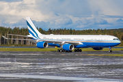 Rare visit of Las Vegas Sands Airbus A340 to Helsinki title=