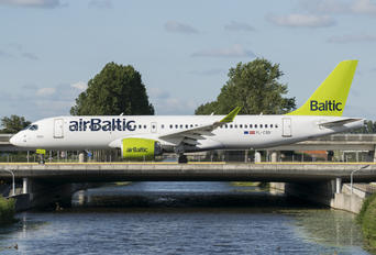 YL-CSD - Air Baltic Airbus A220-300