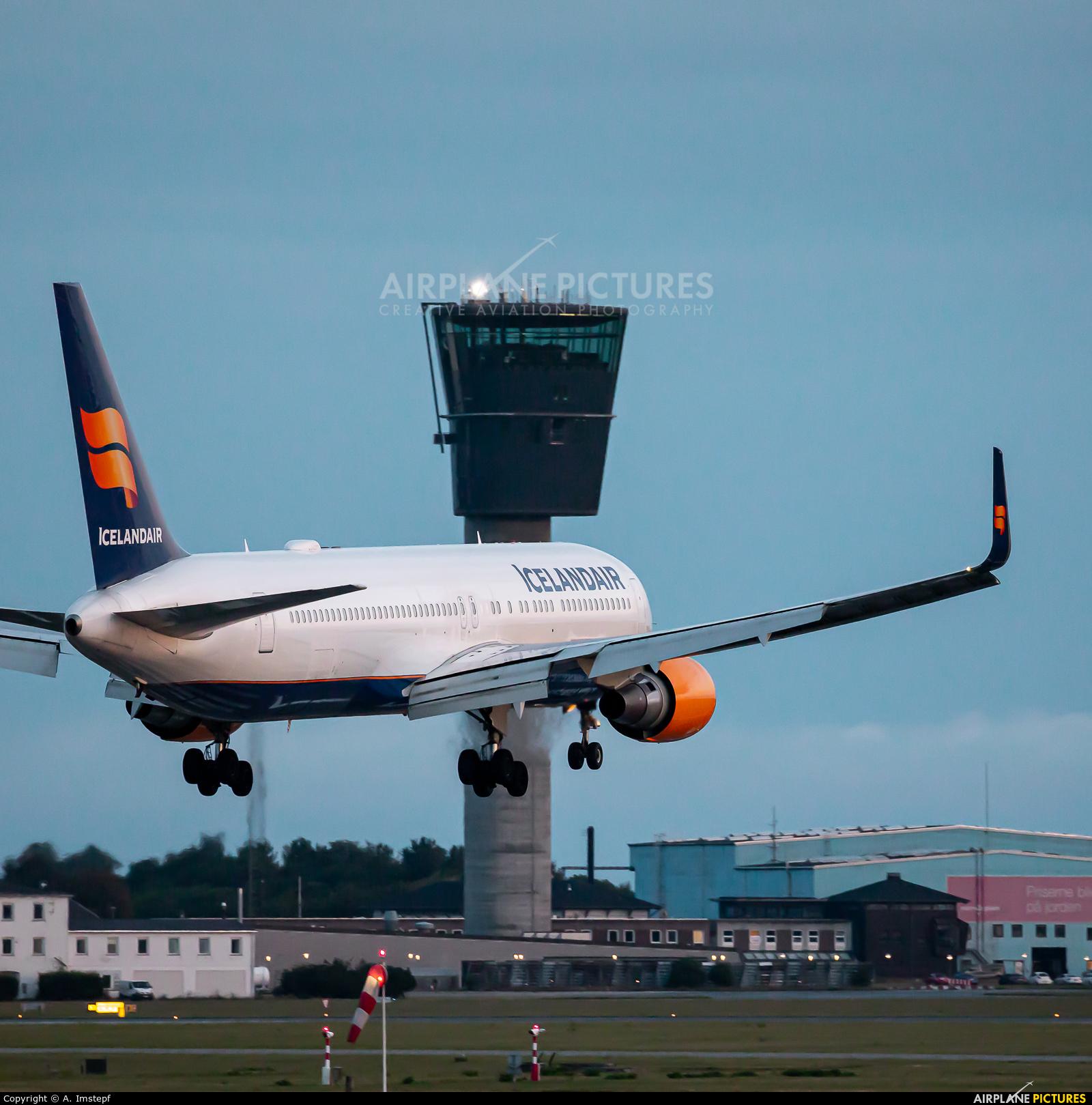 Icelandair TF-ISP aircraft at Copenhagen Kastrup